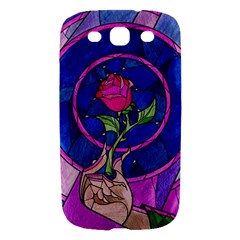 Enchanted Rose Stained Glass Samsung Galaxy S III Hardshell Case