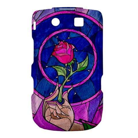 Enchanted Rose Stained Glass Torch 9800 9810