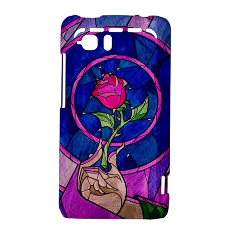 Enchanted Rose Stained Glass HTC Vivid / Raider 4G Hardshell Case