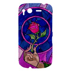Enchanted Rose Stained Glass HTC Desire S Hardshell Case