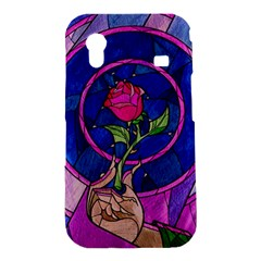 Enchanted Rose Stained Glass Samsung Galaxy Ace S5830 Hardshell Case