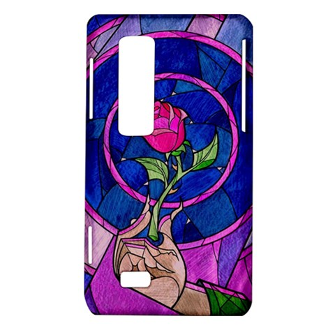 Enchanted Rose Stained Glass LG Optimus Thrill 4G P925