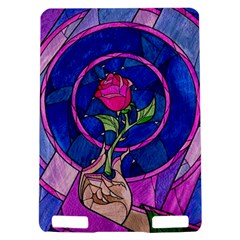 Enchanted Rose Stained Glass Kindle Touch 3G
