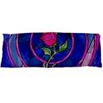 Enchanted Rose Stained Glass Body Pillow Case (Dakimakura) Body Pillow Case