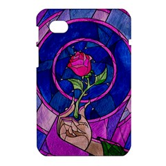 Enchanted Rose Stained Glass Samsung Galaxy Tab 7  P1000 Hardshell Case