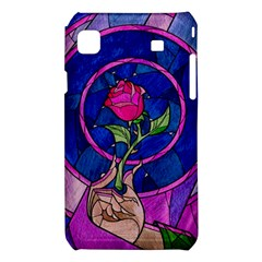 Enchanted Rose Stained Glass Samsung Galaxy S i9008 Hardshell Case