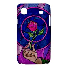 Enchanted Rose Stained Glass Samsung Galaxy SL i9003 Hardshell Case