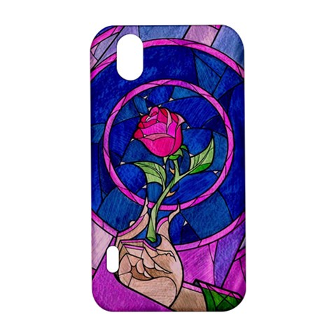 Enchanted Rose Stained Glass LG Optimus P970