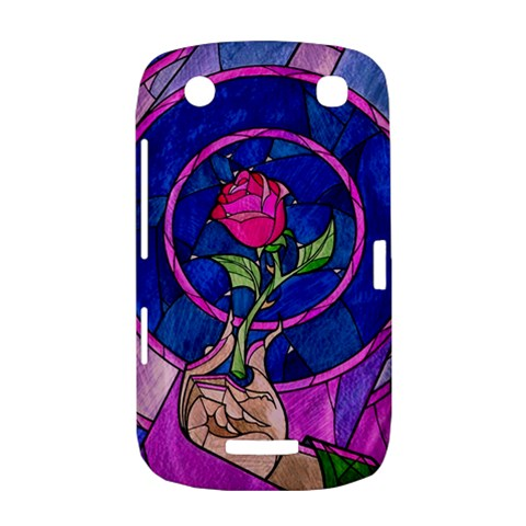 Enchanted Rose Stained Glass BlackBerry Curve 9380