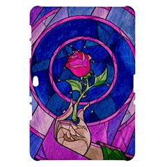 Enchanted Rose Stained Glass Samsung Galaxy Tab 10.1  P7500 Hardshell Case