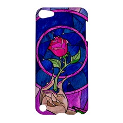 Enchanted Rose Stained Glass Apple Ipod Touch 5 Hardshell Case