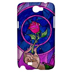 Enchanted Rose Stained Glass Samsung Galaxy Note 2 Hardshell Case