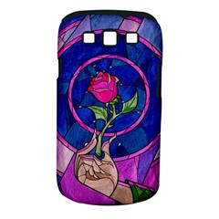 Enchanted Rose Stained Glass Samsung Galaxy S III Classic Hardshell Case (PC+Silicone)