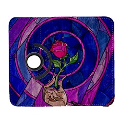 Enchanted Rose Stained Glass Samsung Galaxy S  III Flip 360 Case