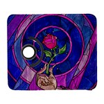 Enchanted Rose Stained Glass Samsung Galaxy S  III Flip 360 Case Front
