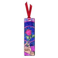 Enchanted Rose Stained Glass Small Book Marks