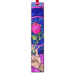 Enchanted Rose Stained Glass Large Book Marks