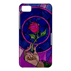 Enchanted Rose Stained Glass BlackBerry Z10