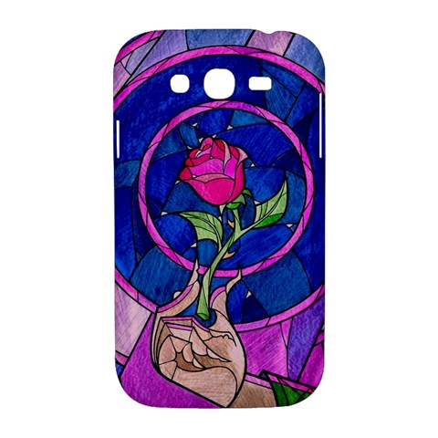 Enchanted Rose Stained Glass Samsung Galaxy Grand DUOS I9082 Hardshell Case