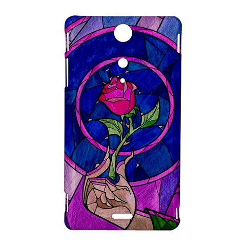 Enchanted Rose Stained Glass Sony Xperia TX