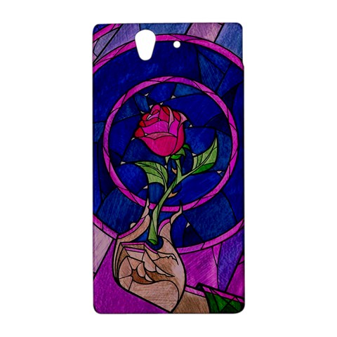 Enchanted Rose Stained Glass Sony Xperia Z