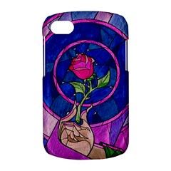 Enchanted Rose Stained Glass BlackBerry Q10