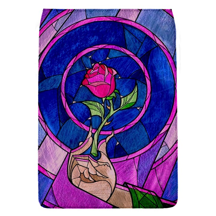 Enchanted Rose Stained Glass Flap Covers (S)