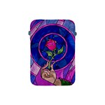 Enchanted Rose Stained Glass Apple iPad Mini Protective Soft Cases Front