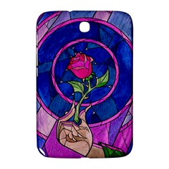 Enchanted Rose Stained Glass Samsung Galaxy Note 8 0 N5100 Hardshell Case