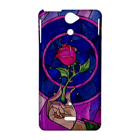 Enchanted Rose Stained Glass Sony Xperia V