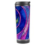 Enchanted Rose Stained Glass Travel Tumbler Right