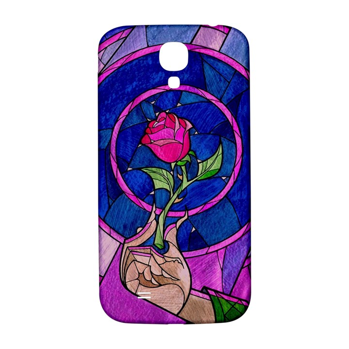 Enchanted Rose Stained Glass Samsung Galaxy S4 I9500/I9505  Hardshell Back Case