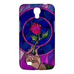 Enchanted Rose Stained Glass Samsung Galaxy Mega 6 3  I9200 Hardshell Case