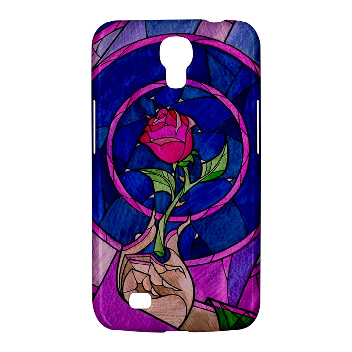 Enchanted Rose Stained Glass Samsung Galaxy Mega 6.3  I9200 Hardshell Case