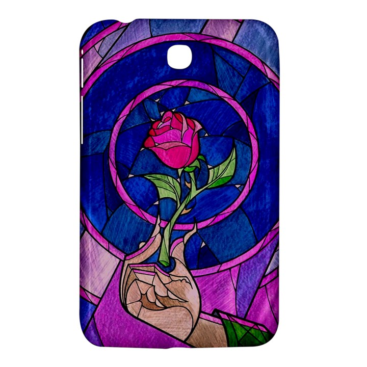 Enchanted Rose Stained Glass Samsung Galaxy Tab 3 (7 ) P3200 Hardshell Case