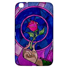 Enchanted Rose Stained Glass Samsung Galaxy Tab 3 (8 ) T3100 Hardshell Case