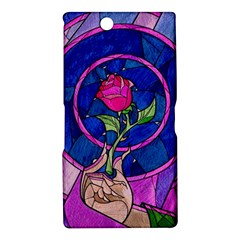 Enchanted Rose Stained Glass Sony Xperia Z Ultra