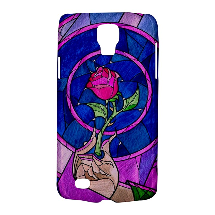 Enchanted Rose Stained Glass Galaxy S4 Active