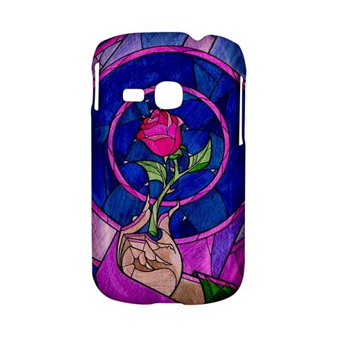 Enchanted Rose Stained Glass Samsung Galaxy S6310 Hardshell Case