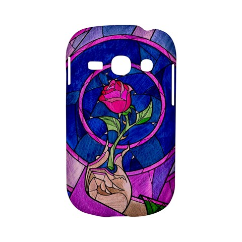 Enchanted Rose Stained Glass Samsung Galaxy S6810 Hardshell Case
