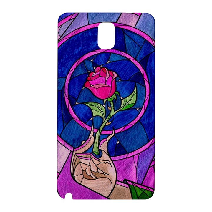 Enchanted Rose Stained Glass Samsung Galaxy Note 3 N9005 Hardshell Back Case