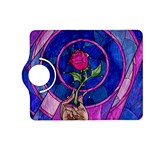 Enchanted Rose Stained Glass Kindle Fire HD (2013) Flip 360 Case Front