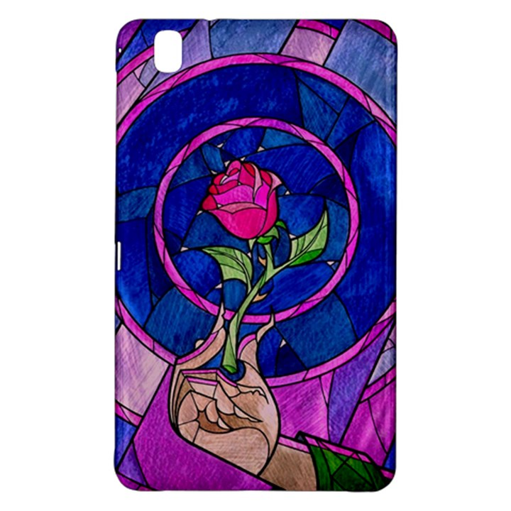 Enchanted Rose Stained Glass Samsung Galaxy Tab Pro 8.4 Hardshell Case