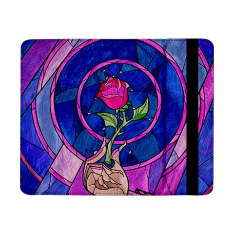Enchanted Rose Stained Glass Samsung Galaxy Tab Pro 8.4  Flip Case