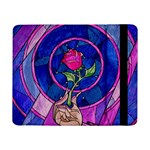 Enchanted Rose Stained Glass Samsung Galaxy Tab Pro 8.4  Flip Case Front