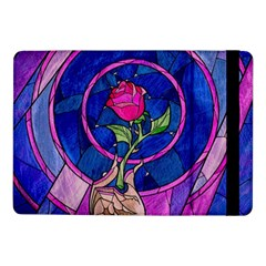 Enchanted Rose Stained Glass Samsung Galaxy Tab Pro 10 1  Flip Case