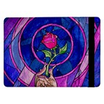Enchanted Rose Stained Glass Samsung Galaxy Tab Pro 12.2  Flip Case Front