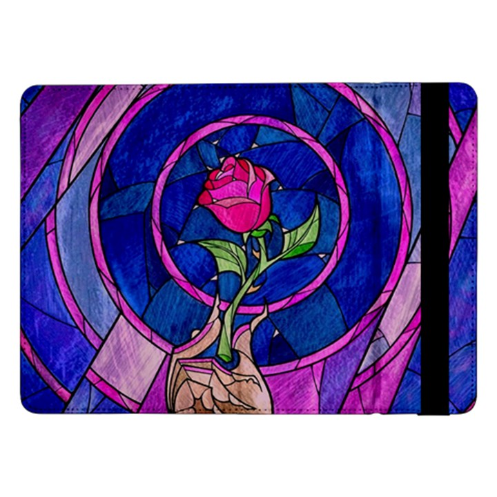 Enchanted Rose Stained Glass Samsung Galaxy Tab Pro 12.2  Flip Case