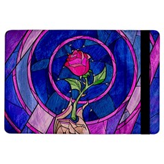 Enchanted Rose Stained Glass iPad Air Flip