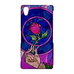 Enchanted Rose Stained Glass Sony Xperia Z2
